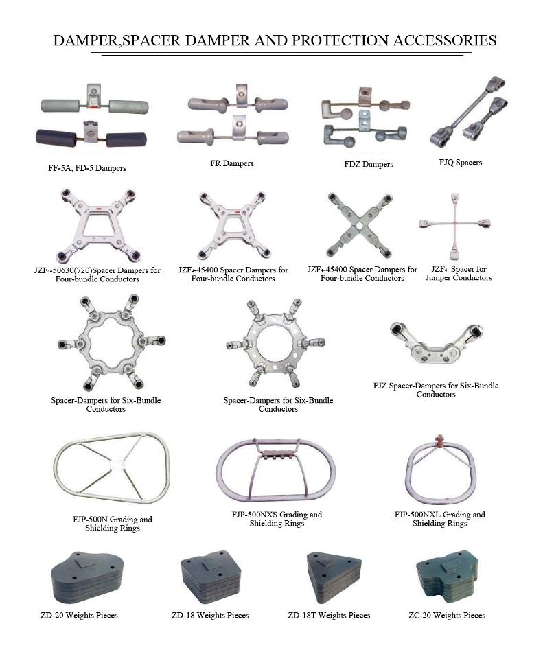 Damper, Spacer Damper and Protection Accessories