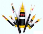 Power Cable FR-XLPE Insulated Conductors, PVC Jacket, 600V