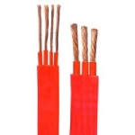 Silicon Rubber (flame retardant) Flat Power Cable