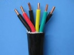 High-temperature resistant control cable with fluoroplastics insulation